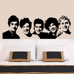 Fresh Deals Home & Living One Direction Wall Sticker Bedroom Living Home Decoration