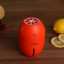 Fresh Deals Home & Living Orange Air Purifier Freshener Car Humidifiers With Led Light