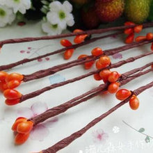 Fresh Deals Home & Living Orange Artificial Beads Branches Home Decoration