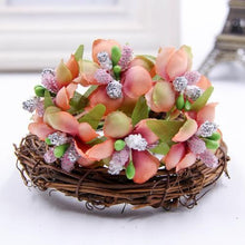 Fresh Deals Home & Living Orange Artificial Bud Berry Flower Garden Corsage Decoration