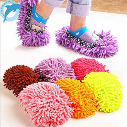 Fresh Deals Home & Living Orange Dust Cleaner Grazing Slippers House Cleaner Mop
