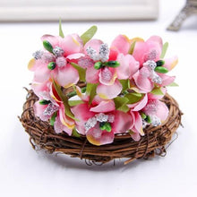 Fresh Deals Home & Living Pink Artificial Bud Berry Flower Garden Corsage Decoration