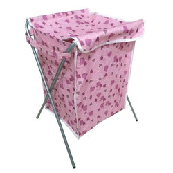 Fresh Deals Home & Living Pink Dirty Clothing Laundry Bucket Storage Basket