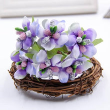 Fresh Deals Home & Living Purple Artificial Bud Berry Flower Garden Corsage Decoration