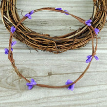 Fresh Deals Home & Living Purple Artificial Flower Wreath Branches Wedding Decoration