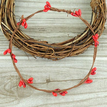 Fresh Deals Home & Living Red Artificial Flower Wreath Branches Wedding Decoration