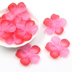 Fresh Deals Home & Living Red Romantic Flower Petals Silk Artificial Cherry Party Decoration