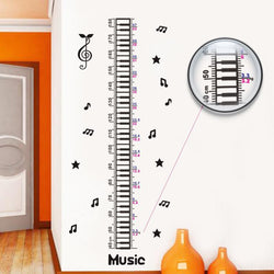 Fresh Deals Home & Living Romantic Music Notes Height Measure Wall Stickers