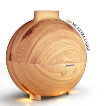 Fresh Deals Home & Living Scar wood grain / China / AU Plug Aromatherapy Wood Grain Ultrasonic  Essential Oil Diffuser