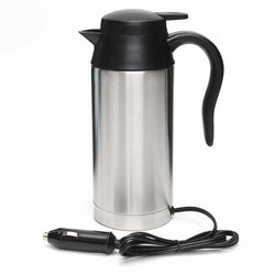 Fresh Deals Home & Living Stainless Steel Coffee Electric Kettle Travel Tea Heated Mug