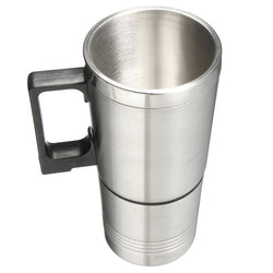 Fresh Deals Home & Living Stainless Steel Heated Electric Cup Mug