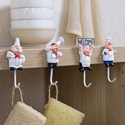 Fresh Deals Home & Living STYLE1 Kitchen Cartoon Shape Cord Storage Rack Hooks Wall Hanger