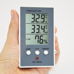 Fresh Deals Home & Living Temperature Thermometer Hygrometer Digital Moisture Meter