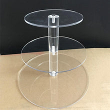 Fresh Deals Home & Living Transparent Birthday Party Wedding Cake Stand Holder Rack