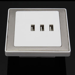 Fresh Deals Home & Living USB Port Smart Home Wall Socket 3 Charger