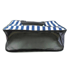 Fresh Deals Home & Living Wall-mounted Stripe Oxford Fold able Organizer Storage Bag