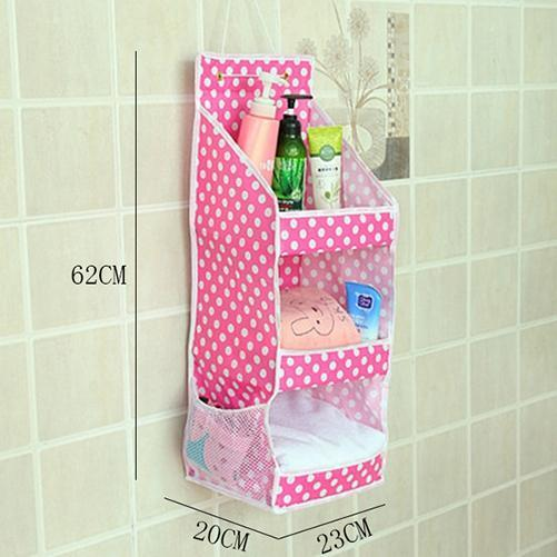 Waterproof Wall Hanging Organizer Bathroom Storage Bag – Fresh Deals