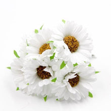 Fresh Deals Home & Living White Artificial DIY Sunflower Bouquet Party Wedding Decoration