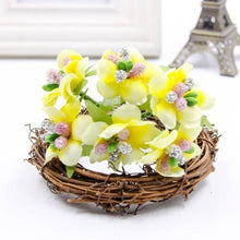 Fresh Deals Home & Living Yellow Artificial Bud Berry Flower Garden Corsage Decoration