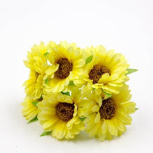 Fresh Deals Home & Living Yellow Artificial DIY Sunflower Bouquet Party Wedding Decoration