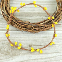 Fresh Deals Home & Living Yellow Artificial Flower Wreath Branches Wedding Decoration