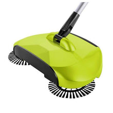 Fresh Deals Household Green 360 Rotary Magic Floor Dust Sweeper Broom
