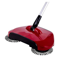 Fresh Deals Household Red 360 Rotary Magic Floor Dust Sweeper Broom