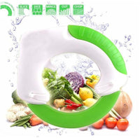 Fresh Deals Kitchen Circular Rolling Vegetable Knives Cutter