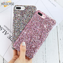Fresh Deals Mobile & Tablet Accessories Colorful Case Luxury Sequin Glitter Phone Cover Case