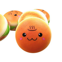 Fresh Deals Mobile & Tablet Accessories Cute Squishy Smile Hamburger Mobile Phone Decoration Toy