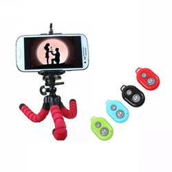 Fresh Deals Mobile & Tablet Accessories Flexible Tripod Stand With Remote Control Phone Clip