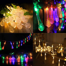 Fresh Deals Outdoor Fairy Decorative Multi Color LED Light Lamp