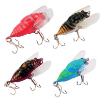 Fresh Deals Sports &Travel Artificial Bait Perch Insect Lure Bait Fishing Treble Barb Hooks