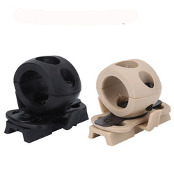 Fresh Deals Sports & Travel Black Light Clamp Adaptor Night Hunting Holder Bracket for Helmet