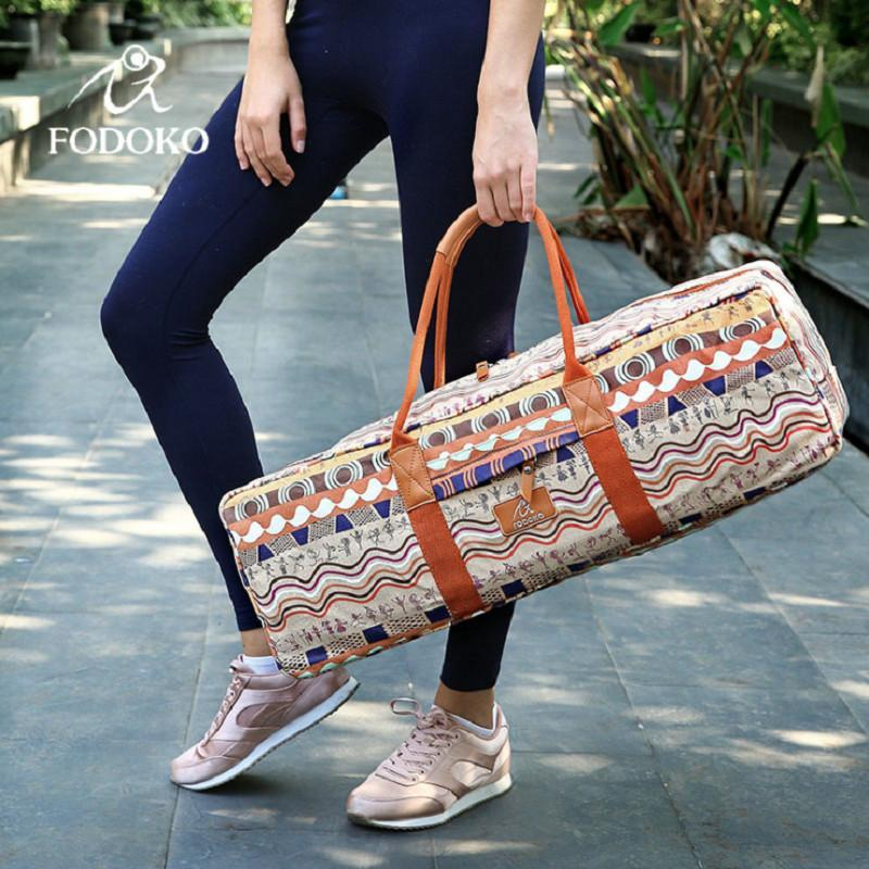 493dd5e67576 Fresh Deals Sports   Travel Canvas Sports Fitness Pilates Carriers Yoga Bag