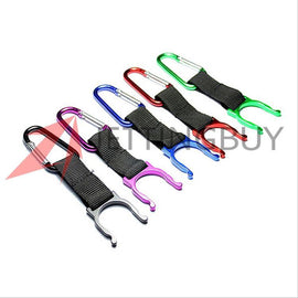 Fresh Deals Sports & Travel Carbine Water Bottle Key-Chain Buckle Clip