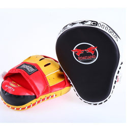 Fresh Deals Sports &Travel Curved Sanda Boxing Pads Focus Target Karate Punch Training