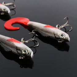 Fresh Deals Sports &Travel Fishing Hooks Artificial Swim bait Tackle Lure Bass Bait