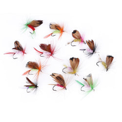 Fresh Deals Sports & Travel Fly Fishing Lure Set for  Insect Butterfly Shape Bait Sharp Hook