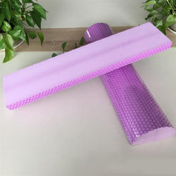 Fresh Deals Sports &Travel Purple Yoga Pilates Half Roller Fitness Message Accessories