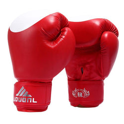 Fresh Deals Sports &Travel Red Punch Training Karate Sports Mitts Men's Boxing Gloves