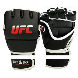 Fresh Deals Sports &Travel Size M Men Boxing Gloves Karate Muay Thai Sandan Mitts Punch