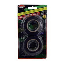 Kole Imports Hardware All Weather Electrical Tape 2 Pieces Set of 24 Pack
