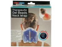 Kole Imports Health Care Hot & Cold Therapeutic Gel Beads Neck Wrap Set of 4 Pack