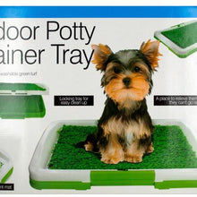 Kole Imports Pet Supplies Anti-Microbial Indoor Potty Trainer Tray Set of 2 Pack
