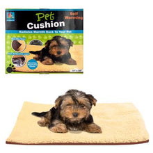 Kole Imports Pet Supplies Comfortable Cozy Self Warming Pet Cushion Set of 2 Pack
