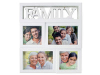Kole Imports Photo Storage & Display Family Rectangular Photo Collage Frame Set of 4 Pack