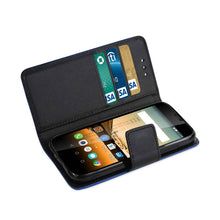 Reiko Mobile & Tablet Accessories Huawei Union 3-In-1 Wallet Case In Navy By Reiko