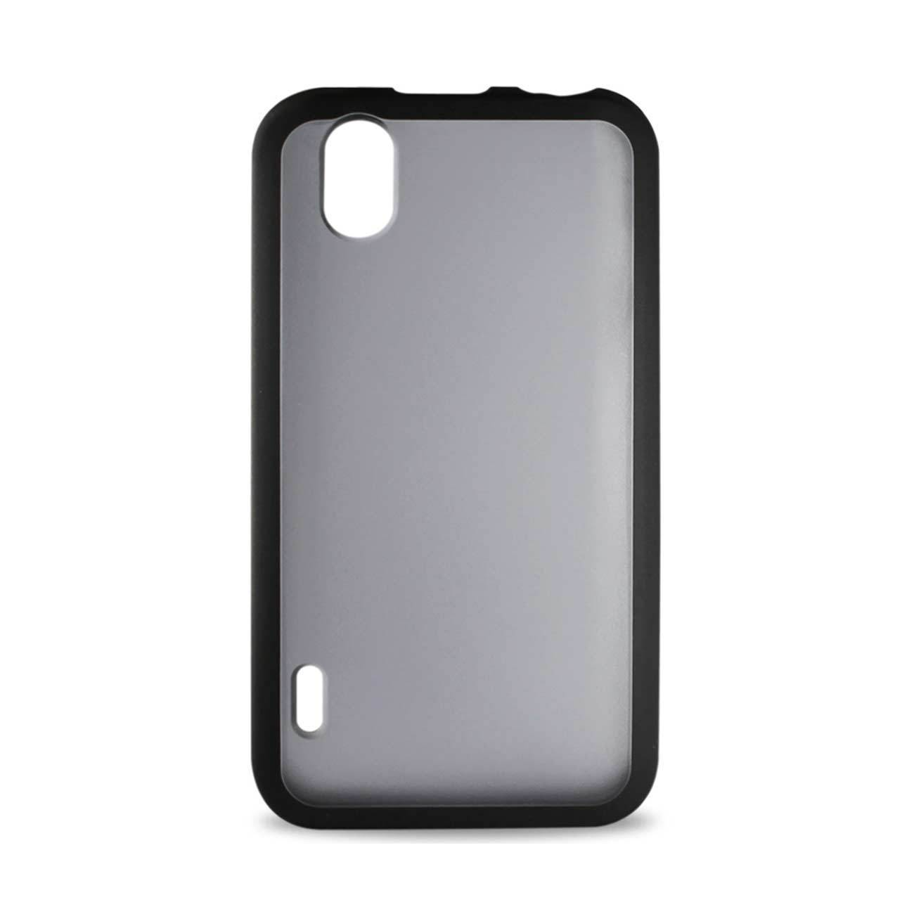 New Frame Clear Back Case In Black For Lg Marquee By Reiko Fresh Deals