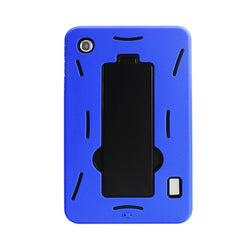 Reiko Mobile & Tablet Accessories New Non Slip Case With Kickstand In Black Navy For Alcatel One Touch Pop 7 By Reiko